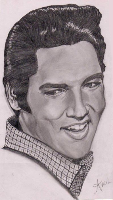 Elvis Presley by Gemini58